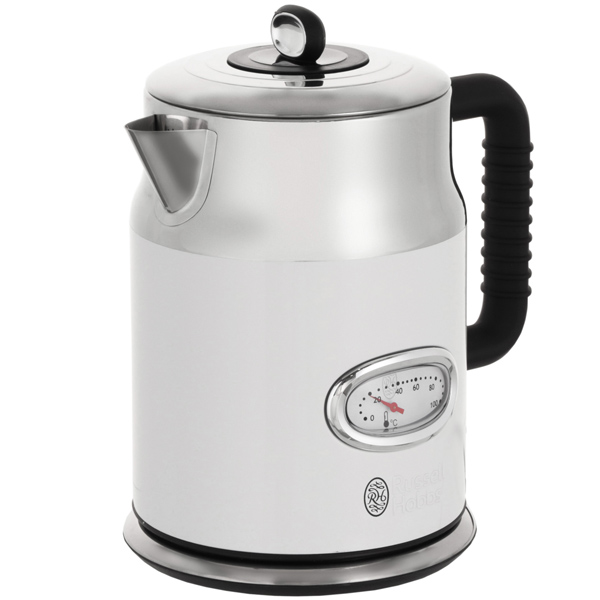 Электрочайник Russell Hobbs Retro White Kettle 21674-70