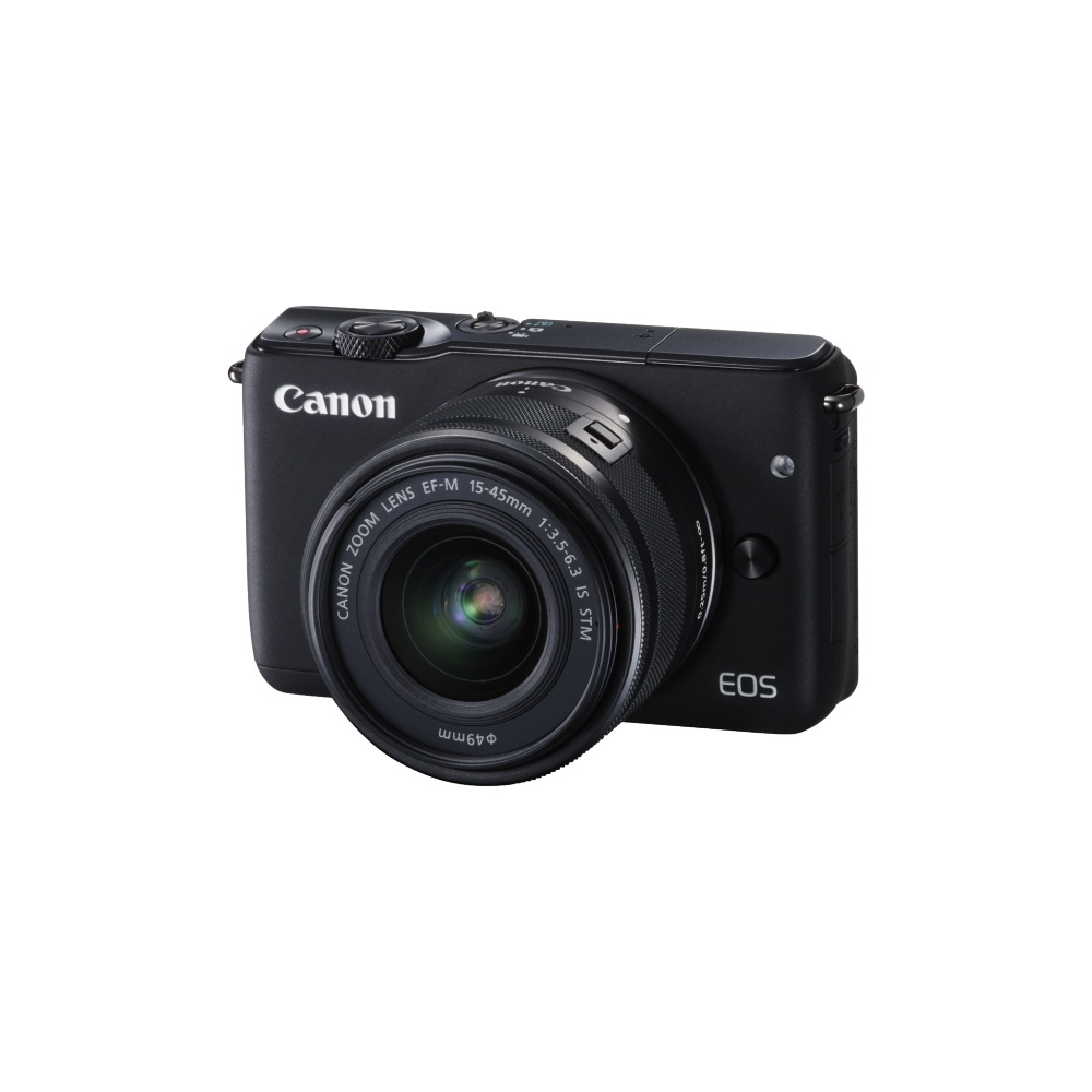 Canon EOS M10 Kit 15-45 IS STM Black
