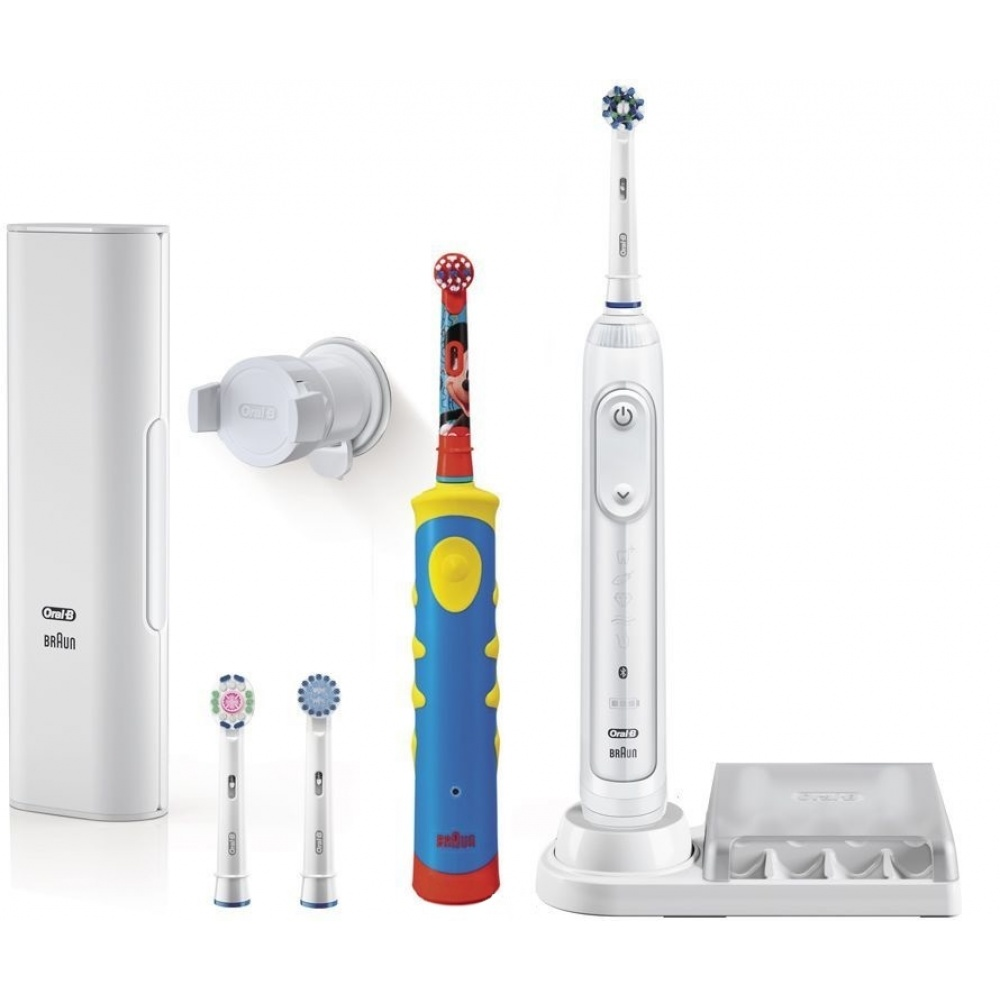 Oral-B Genius 8200 D701 White + Stages Power Mickey D10.513K
