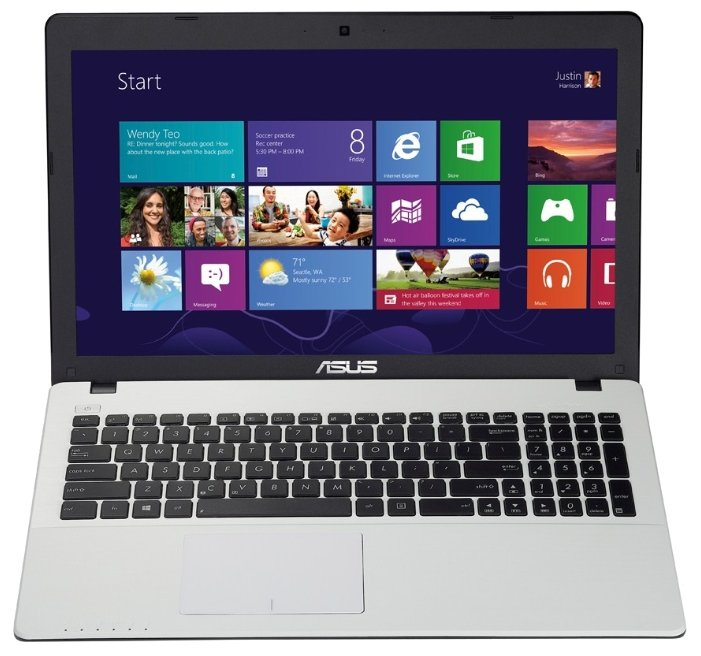 "ASUS X552WA (E1 2100 1000 MHz/15.6""/1366x768/2.0Gb/500Gb/DVD нет/AMD Radeon HD 8210/Wi-Fi/Bluetooth/Win 8 64)"