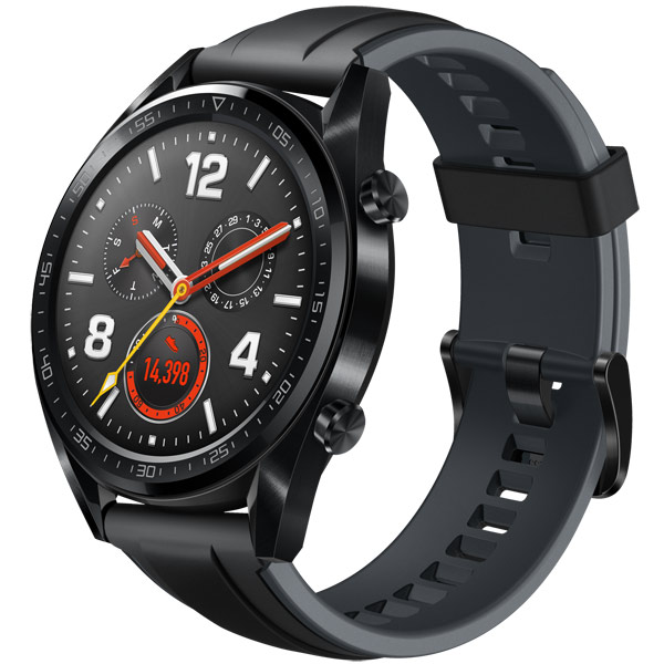 Смарт-часы Huawei Watch GT Classic Steel Black (FTN-B19)