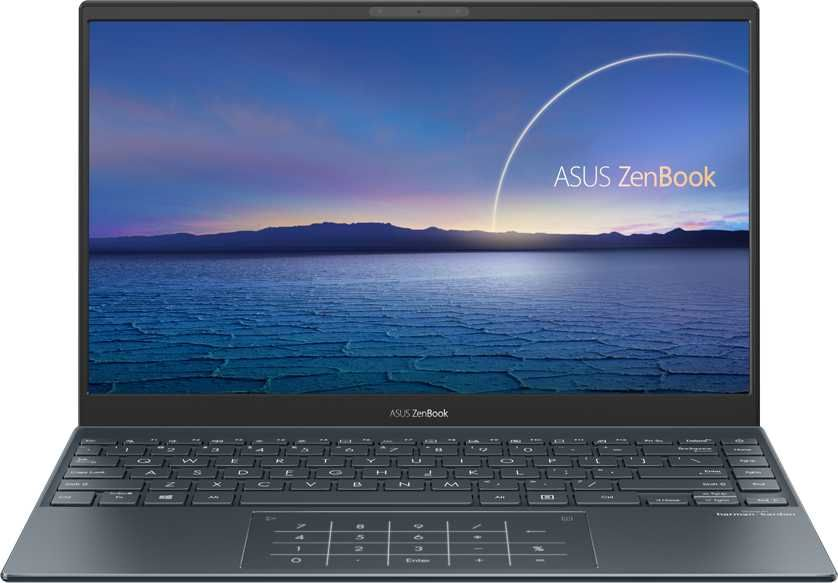 "Ноутбук ASUS Zenbook UX325JA-EG035T, 13.3"", IPS, Intel Core i5 1035G1 1.0ГГц, 8ГБ, 512ГБ SSD, Intel UHD Graphics , Windows 10, 90NB0QY1-M02090, серый"
