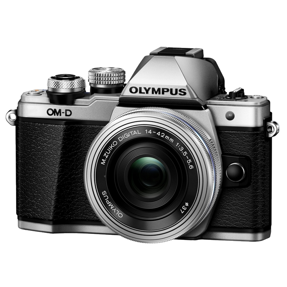 Olympus OM-D E-M10 Mark II Kit Silver