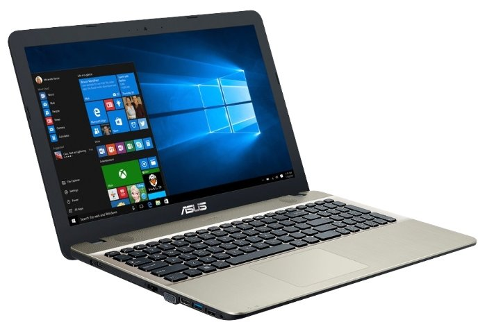 "ASUS (Intel Celeron N3060 1600 MHz/15.6""/1366x768/2Gb/500Gb HDD/DVD нет/Intel HD Graphics 400/Wi-Fi/Bluetooth/DOS)"