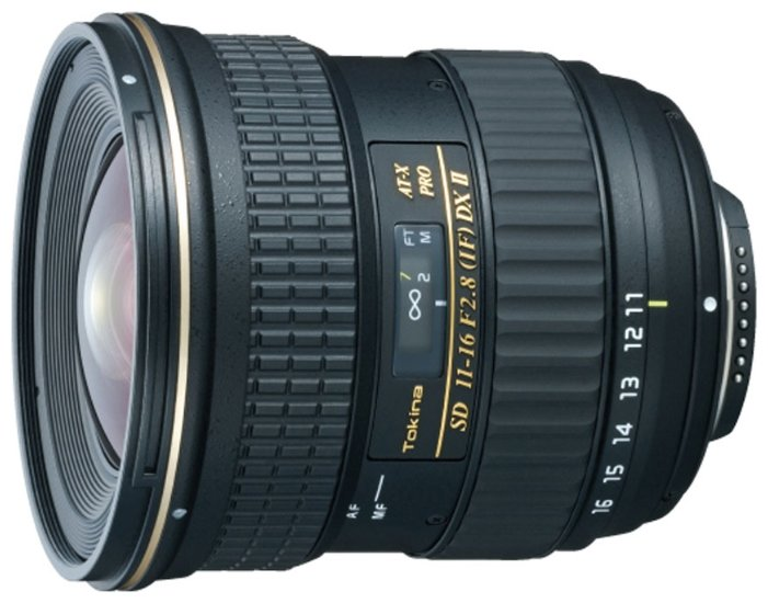 Tokina AT-X 11-16mm f/2.8 (AT-X 116) Pro DX II Canon EF-S