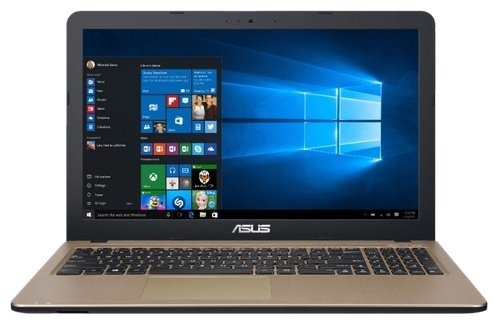 "ASUS R540YA (AMD E1 7010 1500 MHz/15.6""/1366x768/2Gb/500Gb HDD/DVD нет/AMD Radeon R2/Wi-Fi/Bluetooth/Windows 10 Home)"