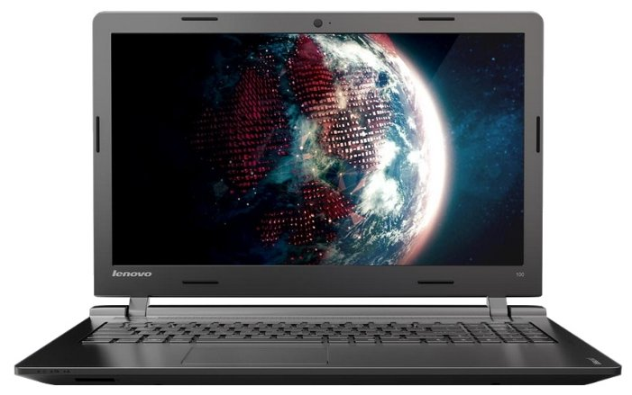 "Lenovo IdeaPad 100 15 (Intel Celeron N2840 2167 MHz/15.6""/1366x768/2.0Gb/250Gb/DVD нет/Intel GMA HD/Wi-Fi/Bluetooth/DOS)"
