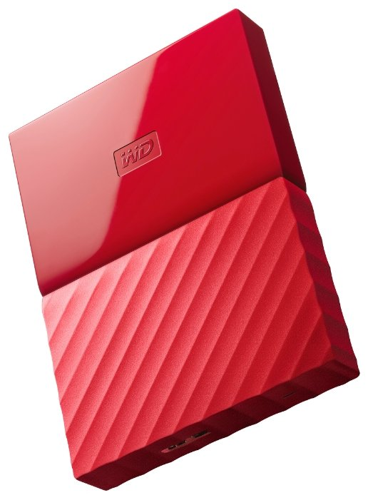Жесткий диск Western Digital My Passport 2 TB (WDBUAX0020B) Red