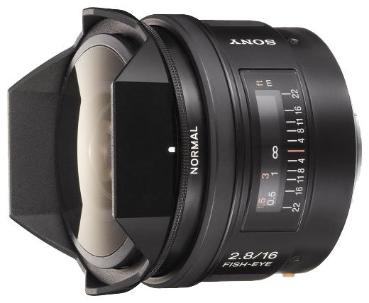 Sony 16mm f/2.8 Fisheye (SAL-16F28)