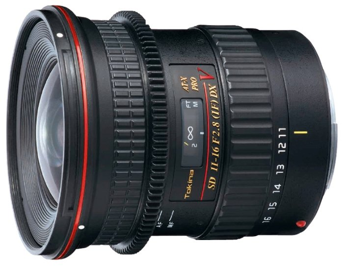 Tokina AT-X 11-16mm f/2.8 (AT-X 116) PRO DX V Canon EF-S