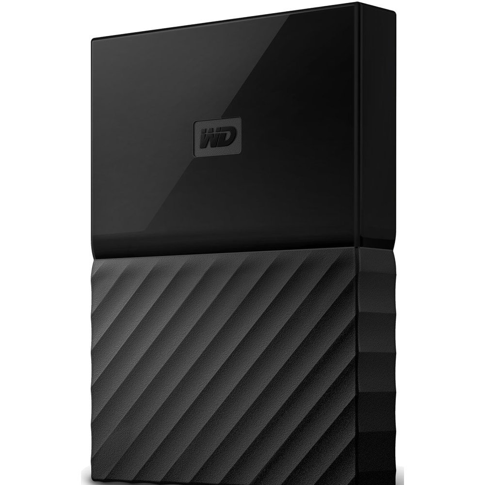 Жесткий диск Western Digital My Passport 1 TB (WDBBEX0010B) Black
