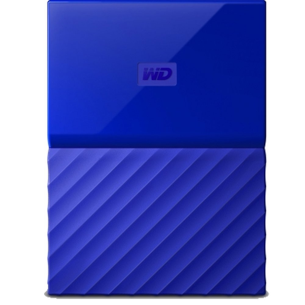 Жесткий диск Western Digital My Passport 1 TB (WDBBEX0010B) Blue