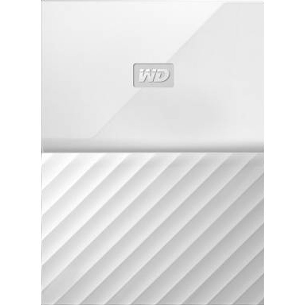 Жесткий диск Western Digital My Passport 1 TB (WDBBEX0010B) White