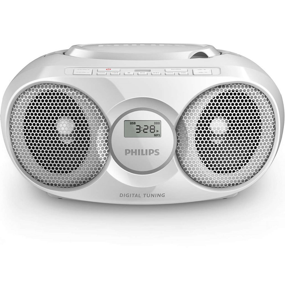 Магнитола Philips AZ 318 White