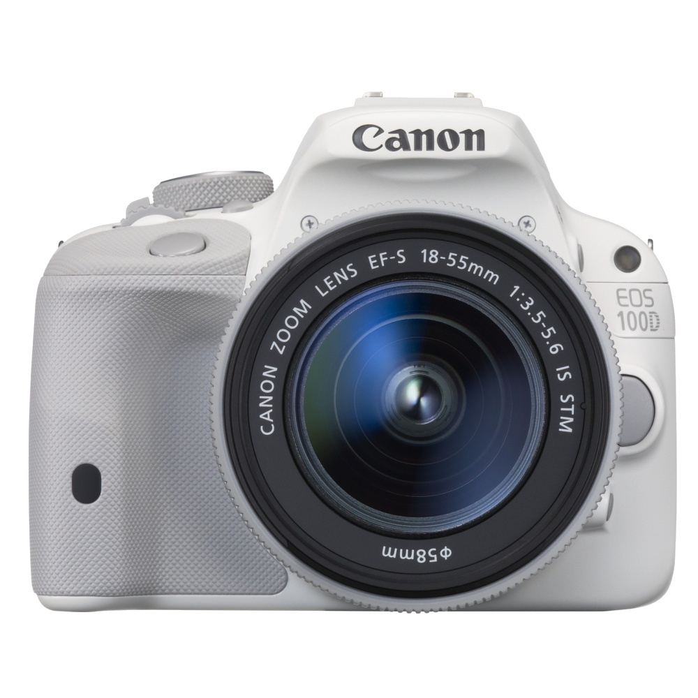 Зеркальный фотоаппарат Canon EOS 100D Kit 18-55 IS STM White