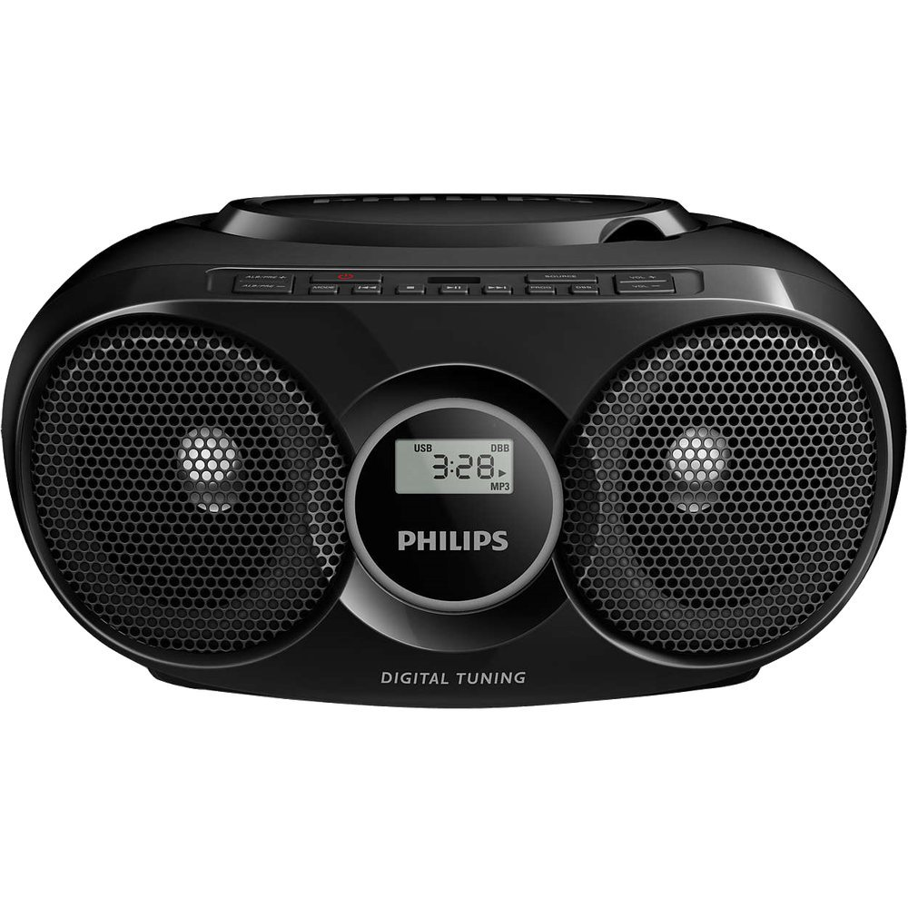 Магнитола Philips AZ 318 Black