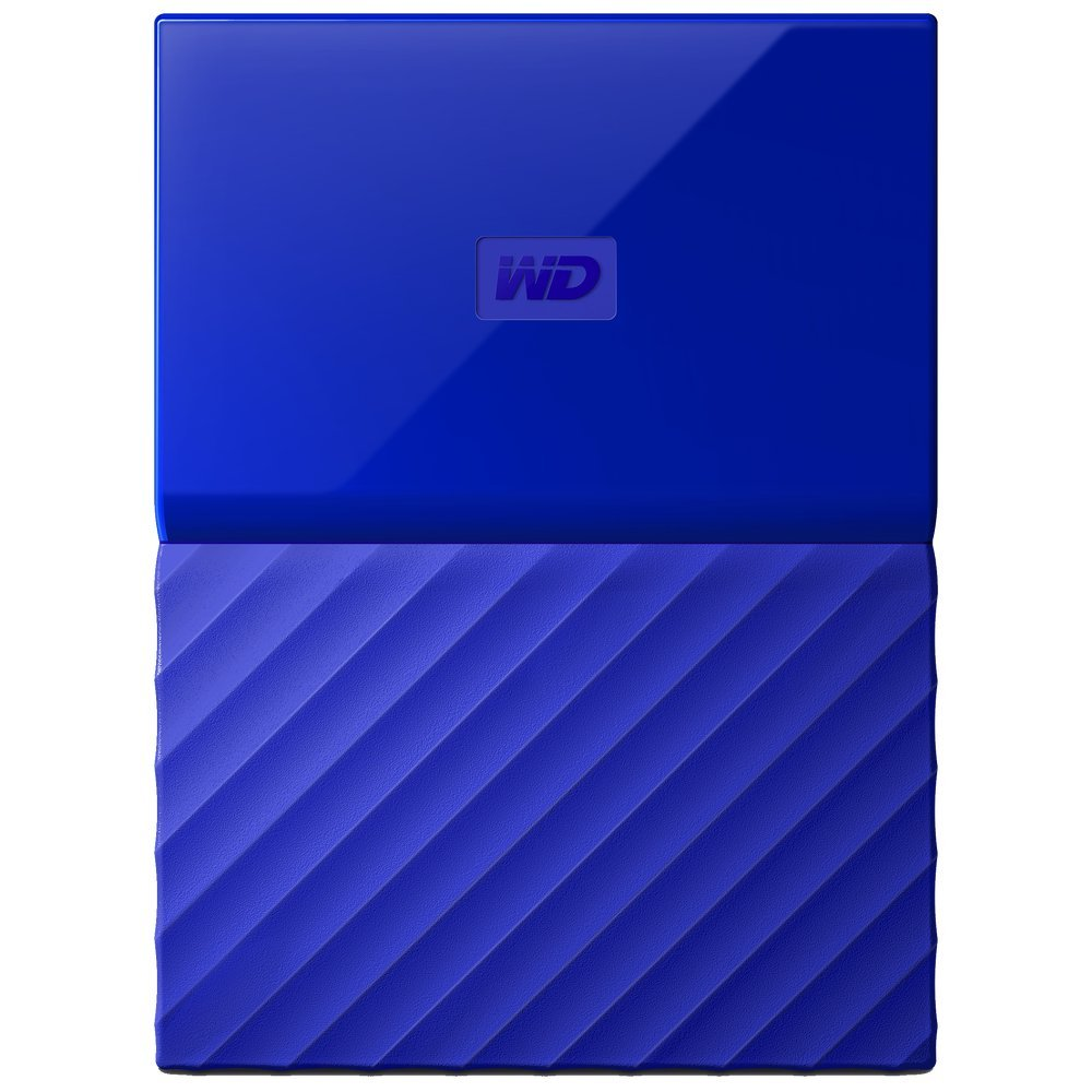 Жесткий диск Western Digital My Passport 4 TB (WDBUAX0040B) Blue