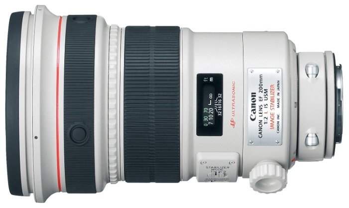 Canon EF 200mm f/2.0L IS USM