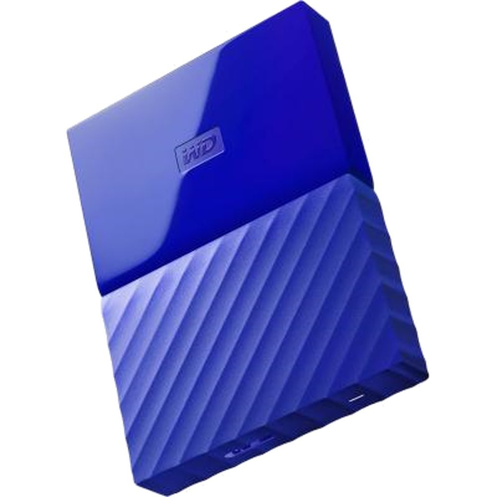 Жесткий диск Western Digital My Passport 2 TB (WDBUAX0020B) Blue