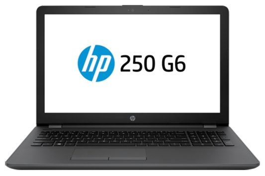 "HP 250 G6 (1WY14EA) (Intel Celeron N3060 1600 MHz/15.6""/1366x768/4Gb/500Gb HDD/DVD-RW/Intel HD Graphics 400/Wi-Fi/Bluetooth/Windows 10 Home)"
