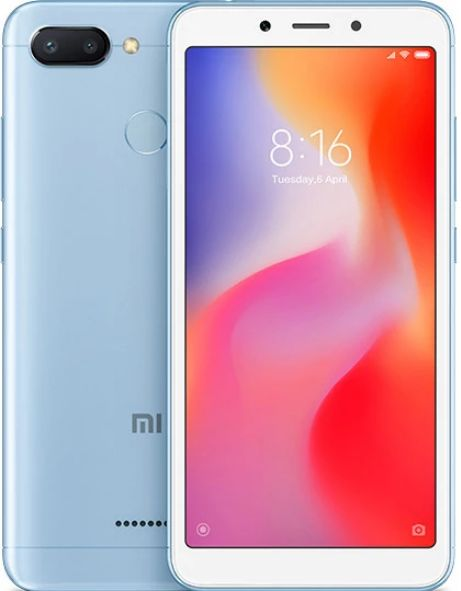 Смартфон Xiaomi Redmi 6 4/64GB голубой