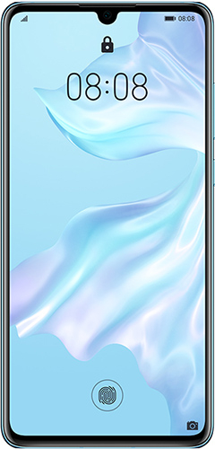 Смартфон HUAWEI P30 Breathing Crystal светло-голубой (ELE-L29)