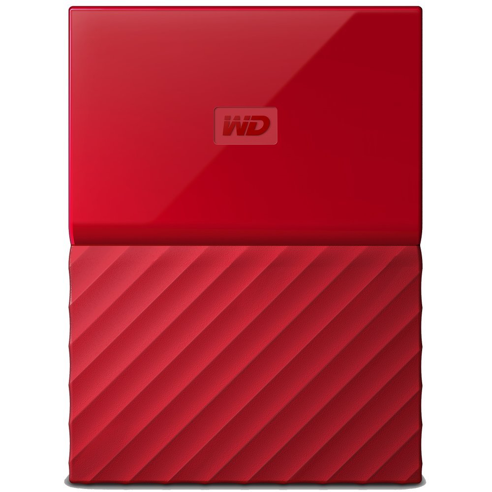 Жесткий диск Western Digital My Passport 4 TB (WDBUAX0040B) Red